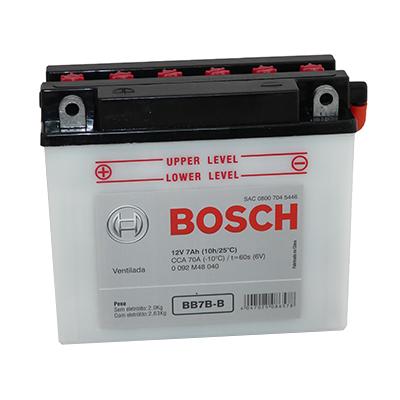 Bateria Moto Bosch BB7-B
