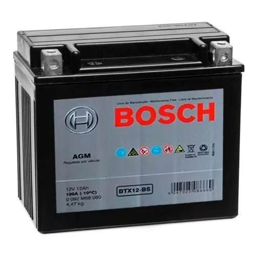 Bateria Moto Bosch BTX12-BS