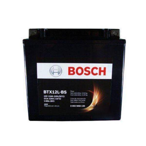 Bateria Moto Bosch BTX12L-BS