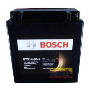 Bateria Moto Bosch BTX14-BS