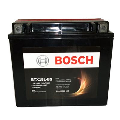 Bateria Moto Bosch BTX18L-BS