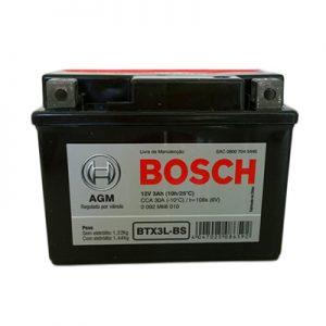 Bateria Moto Bosch BTX3L-BS
