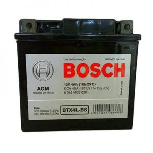 Bateria Moto Bosch BTX4L-BS
