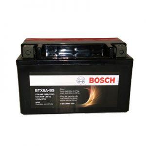 Bateria Moto Bosch BTX6A-BS | Varejão das Baterias
