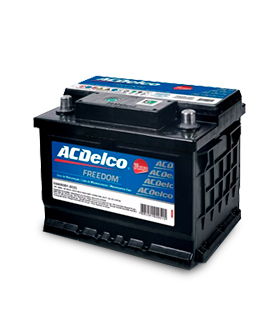Bateria Automotiva AC Delco 60AH Caixa Alta
