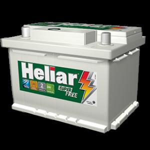 Bateria Automotiva Heliar 65AH