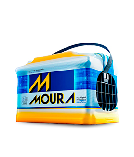 Bateria Automotiva Moura 60AH Caixa Alta