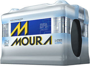 Bateria Automotiva Moura 72AH EFB