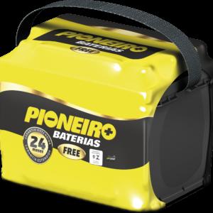 Bateria Automotiva Pioneiro 52AH Caixa Alta