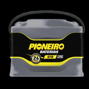 Bateria Automotiva Pioneiro 60AH EFB