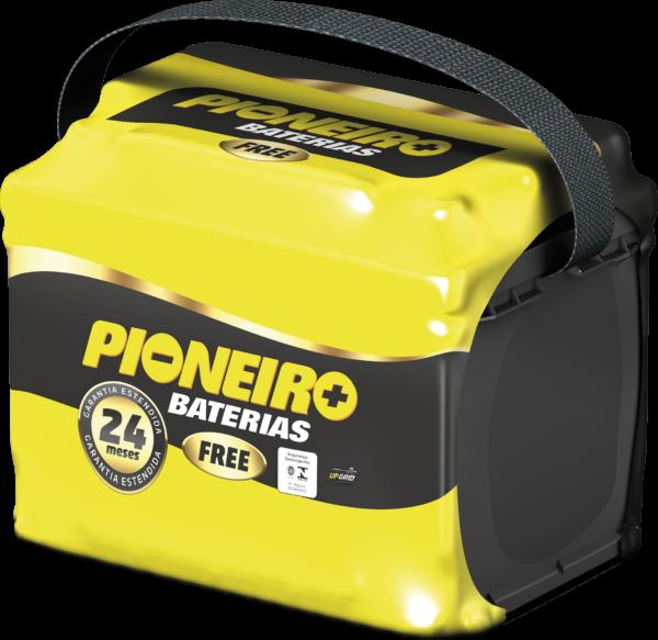 Bateria Automotiva Pioneiro 60AH - 24 Meses de Garantia