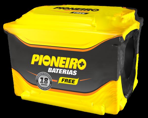 Bateria Automotiva Pioneiro 75AH Caixa Alta