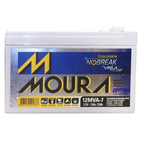 Bateria Estacionária Moura 12MVA 7AH