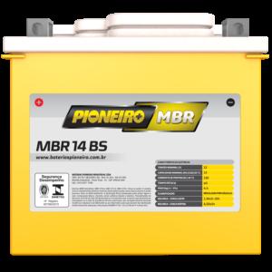 Bateria de Moto Pioneiro MBR 14-BS
