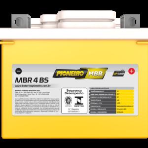 Bateria de Moto Pioneiro MBR 4-BS | Varejão das Baterias