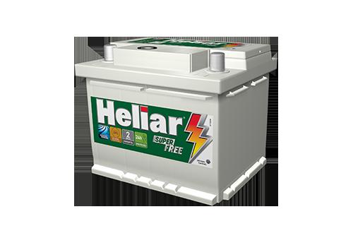 Bateria Automotiva Heliar 52AH