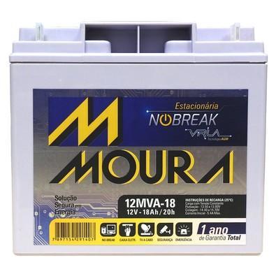 Bateria Estacionária Moura 12MVA 18AH