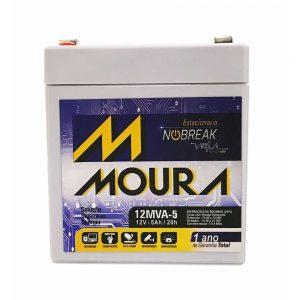 Bateria Estacionária Moura 12MVA 5AH