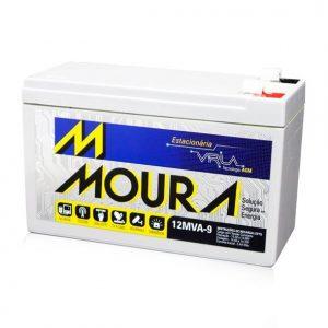 Bateria Estacionária Moura 12MVA 9AH